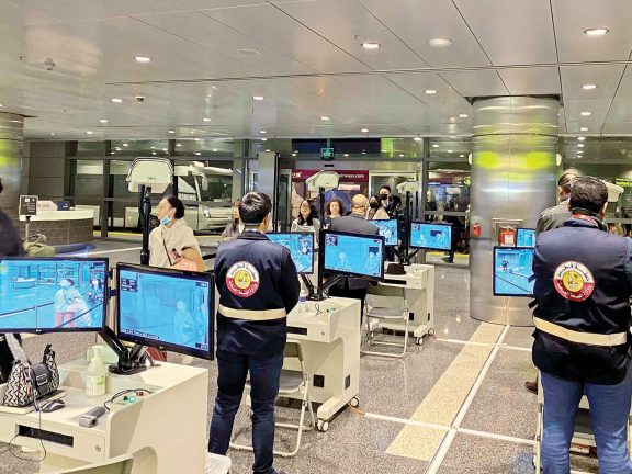 Photo of مطار حمد الدولي يتأهّب لمنع تسلل كورونا