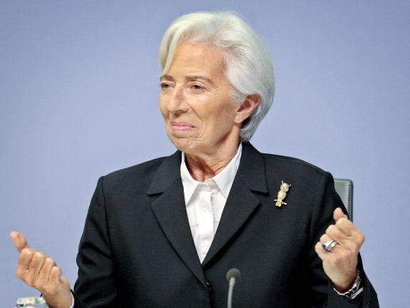 Photo of لاجارد: المركزي الأوروبي لايعمل بنظام آلي