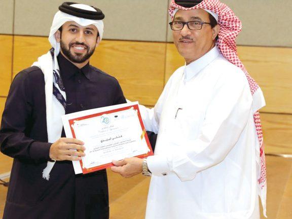 Photo of تكريم المتطوعين في البرامج التوعوية للسكري
