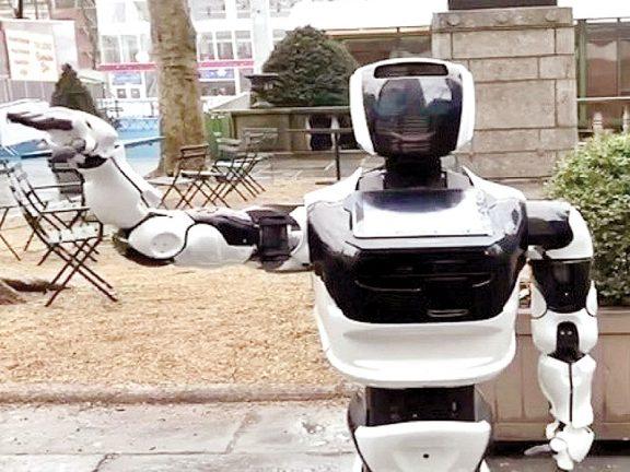 Photo of روبوت يتجول في نيويورك بحثاً عن كورونا