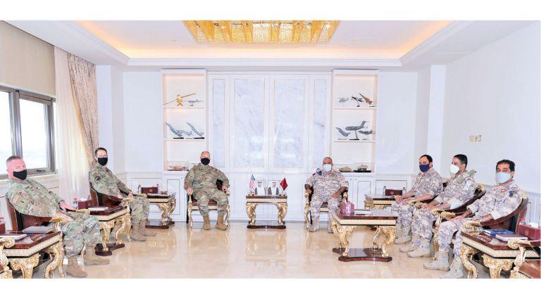 Photo of قطر وأمريكا تستعرضان العلاقات العسكرية