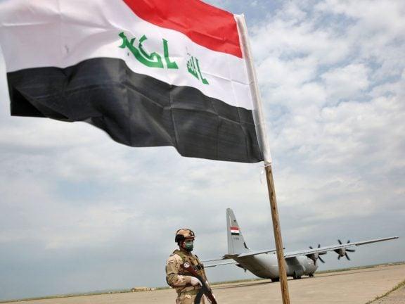Photo of قصف صاروخي للمنطقة الخضراء وسط بغداد