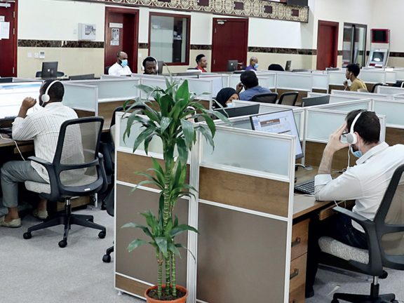 Photo of افتتاح موقع جديد لمركز الاتصال الحكومي