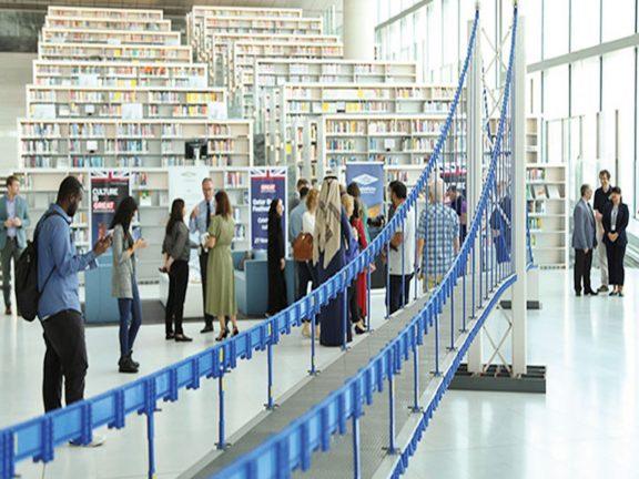 Photo of المكتبة الوطنية تطلق فعاليات المخيم الإلكتروني