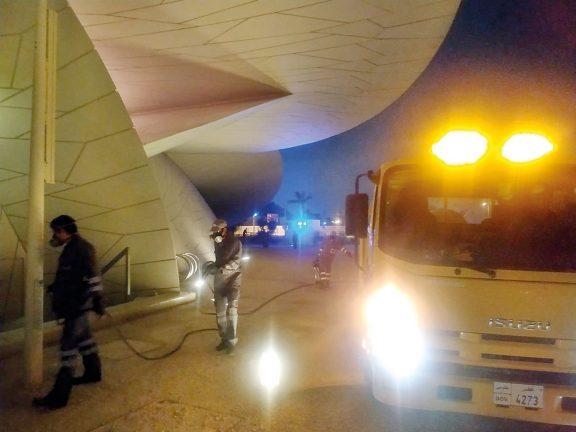 Photo of متاحف قطر تُعقِّم مبانيها وحدائقها
