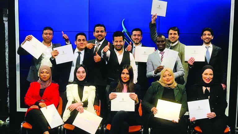 Photo of ختام دورة التقديم التلفزيوني في تركيا
