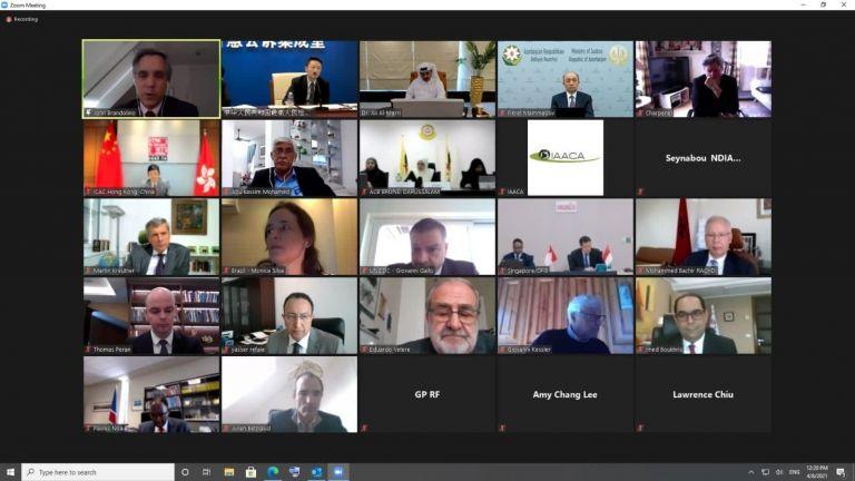 Photo of انعقاد اجتماع اللجنة التنفيذية للرابطة الدولية لهيئات مكافحة الفساد