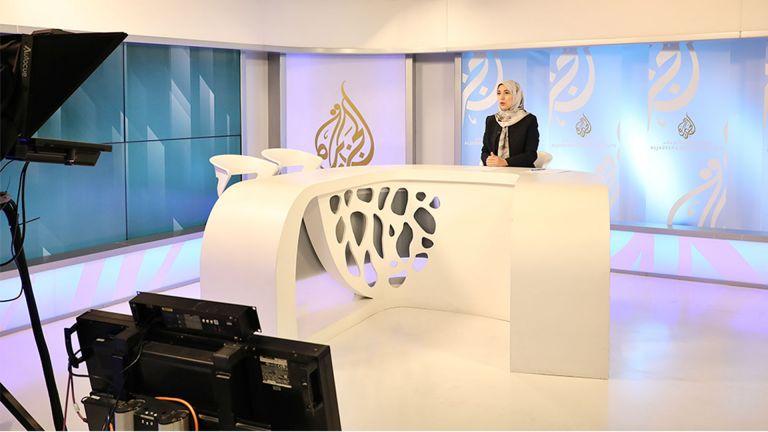 Photo of ورشة للتقديم التلفزيوني في معهد الجزيرة