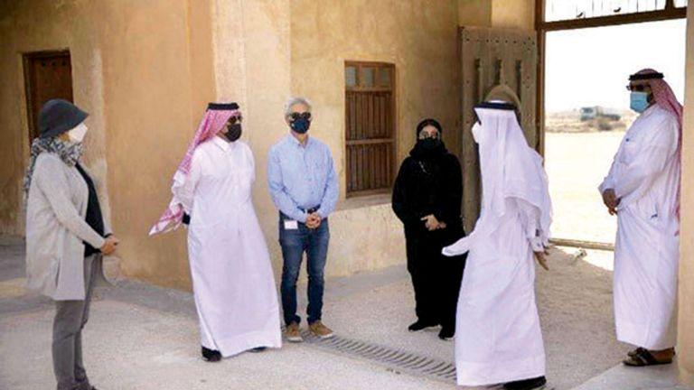 Photo of جولة تعريفيّة لموقع الزبارة الأثري