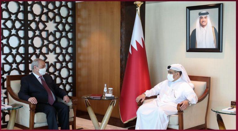 Photo of وزير التجارة والصناعة يجتمع مع وزير خارجية أوزبكستان