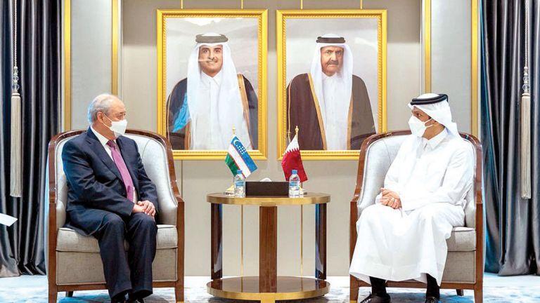 Photo of نائب رئيس الوزراء يجتمع مع وزير خارجية أوزبكستان