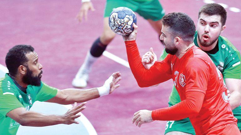 Photo of الدحيل يعبر الأهلي في دوري اليد