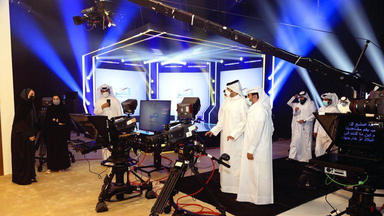 Photo of «القطرية للإعلام» تدشن أستوديو جاسم عبدالعزيز