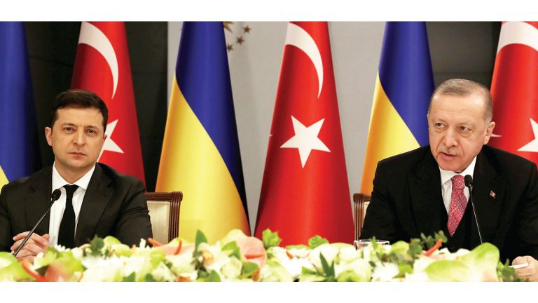 Photo of أردوغان: نسعى لحل التوترات بين أوكرانيا وروسيا