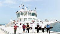 Photo of سفينة الأبحاث «جنان» تبدأ رحلة لدراسة البيئة البحرية