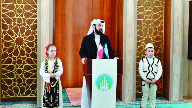 Photo of قطر الخيرية تشارك في افتتاح أكبر مسجد بكوسوفا