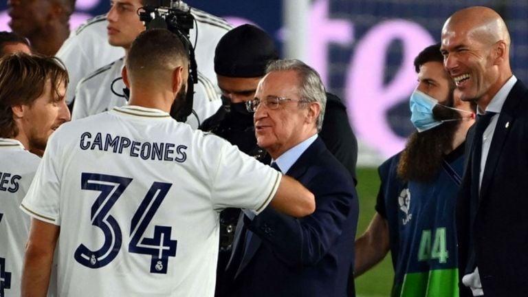 Photo of إعادة انتخاب بيريس رئيسًا للريال