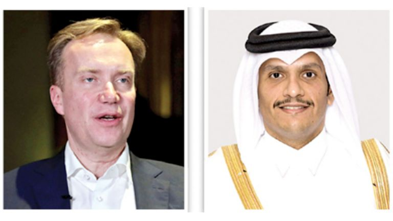 Photo of نائب رئيس الوزراء يتلقى اتصالًا من رئيس مؤتمر الاقتصاد العالمي
