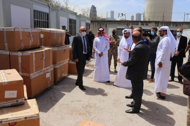 Photo of وصول شحنة مساعدات قطرية إلى لبنان