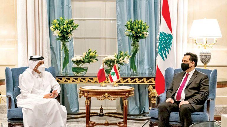 Photo of نائب رئيس الوزراء يبحث مع د. حسان المستجدات اللبنانية