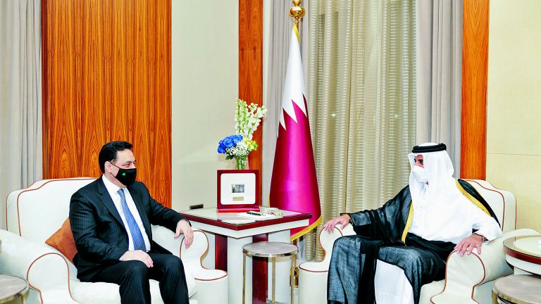 Photo of صاحب السمو يؤكد دعم قطر للبنان وشعبه الشقيق