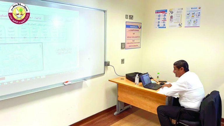 Photo of انتهاء شرح المقررات الدراسية بداية مايو