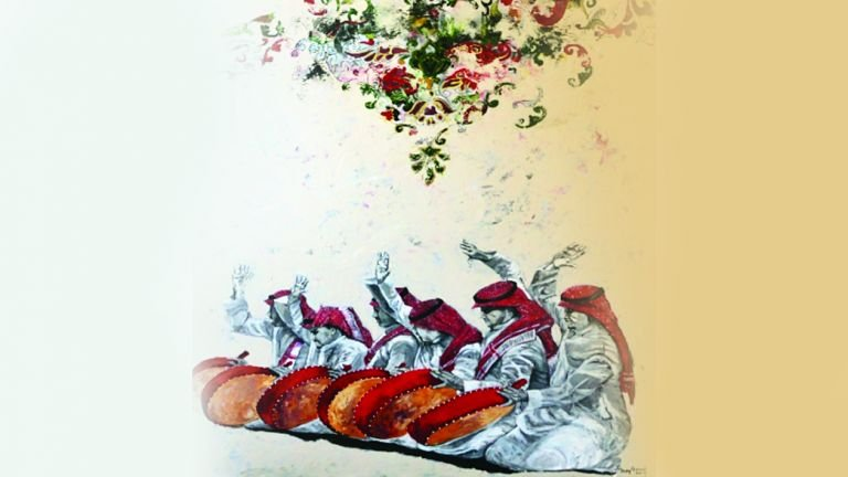 Photo of «صوت اللون» .. مفردات التراث الخليجي في 30 لوحة