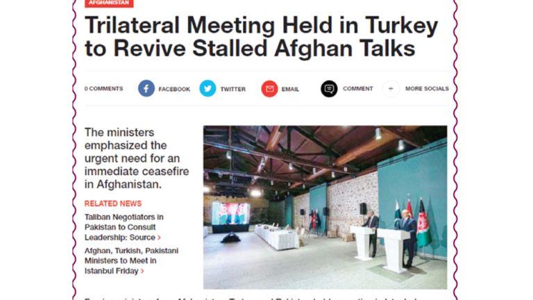 Photo of إشادة تركية باكستانية أفغانية بجهود قطر لتسريع السلام الأفغاني