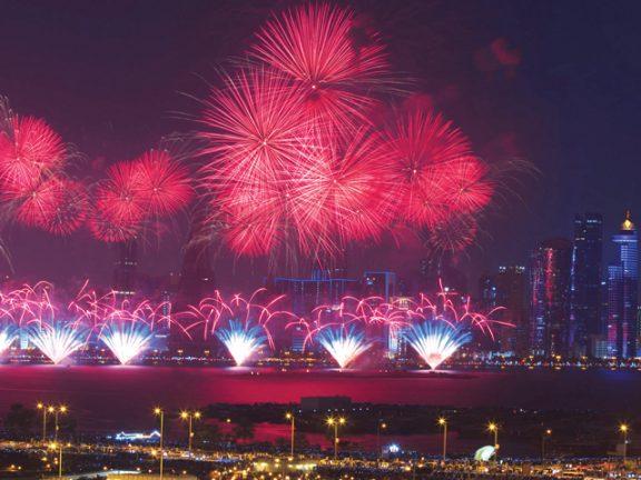Photo of الألعاب النارية تزيّن سماء الدوحة