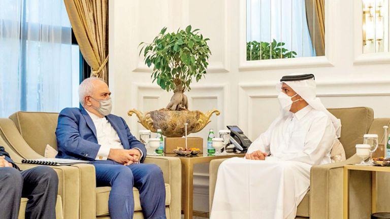 Photo of نائب رئيس الوزراء ووزير الخارجية الإيراني يستعرضان العلاقات والقضايا الإقليمية