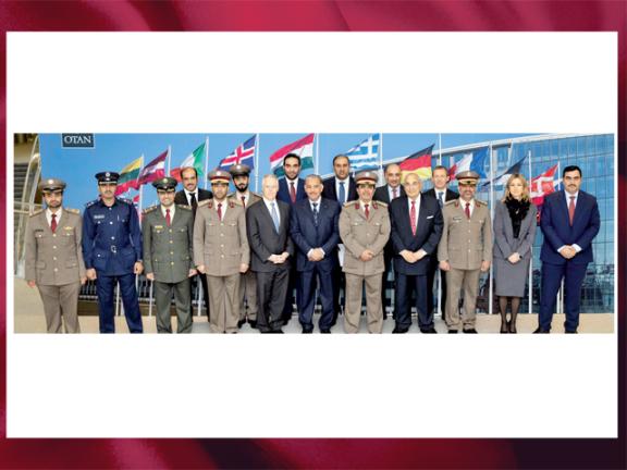 Photo of قطر والناتو يوقّعان اتفاقية لحماية المعلومات المصنفة المتبادلة