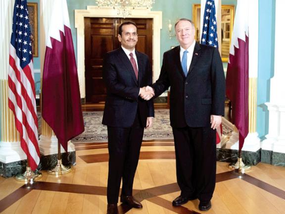 Photo of قطر وأمريكا تبحثان تعزيز العلاقات الثنائية