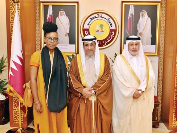 Photo of نائب رئيس الشورى يجتمع مع مسؤولة أممية