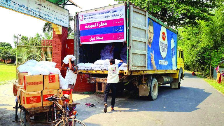 Photo of قطر الخيرية تفطر الصائمين في ألبانيا وبنجلاديش وفلسطين