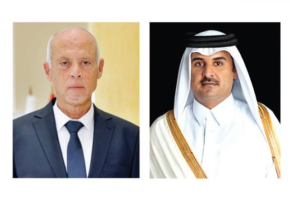 Photo of صاحب السمو : قطر تقف مع تونس وتدعم تطلعات الشعب