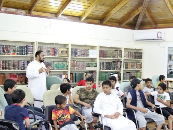 Photo of حوارات ثقافية بشباب الجميلية