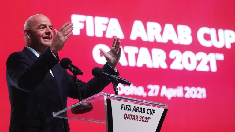 "Photo of ""كأس العرب 2021"" اختبار مثالي لقدرات المنتخب القطري قبل مونديال 2022"