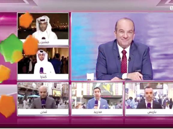 Photo of الإعلام القطري يحتفي بالحدث العالمي بتغطيات خاصة