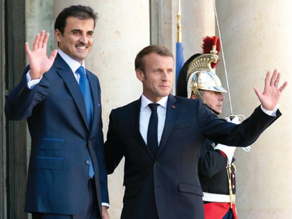 Photo of صاحب السمو والرئيس الفرنسي يعززان العلاقات الاستراتيجية