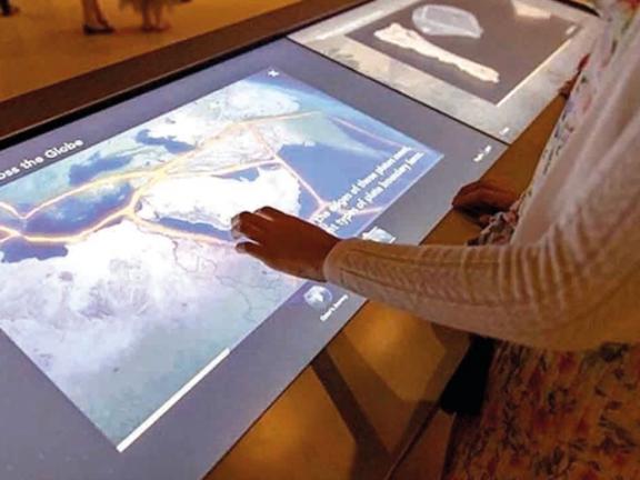 Photo of المتاحف تستكشف تاريخ قطر الجيولوجي