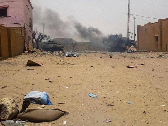 Photo of 100 قتيل في هجوم على قرية بوسط مالي