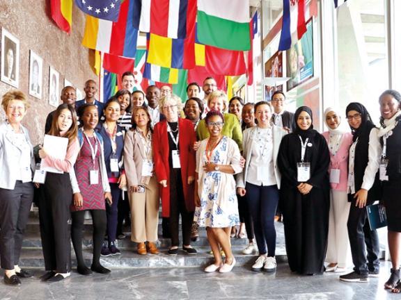 Photo of «ويِش» يدعم قادة التمريض الشباب في جمعية الصحة العالمية بجنيف