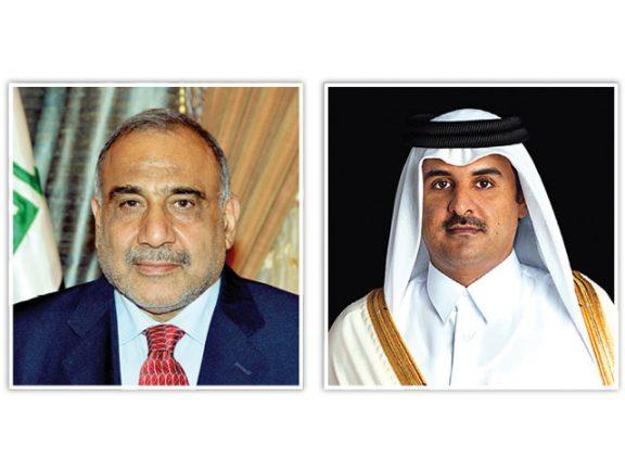Photo of صاحب السمو يستقبل رئيس الوزراء العراقي اليوم