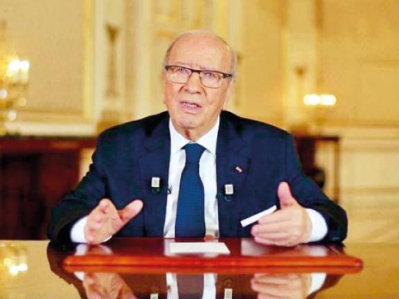 Photo of الرئيس التونسي يدعو لتجنب التصعيد العسكري في ليبيا
