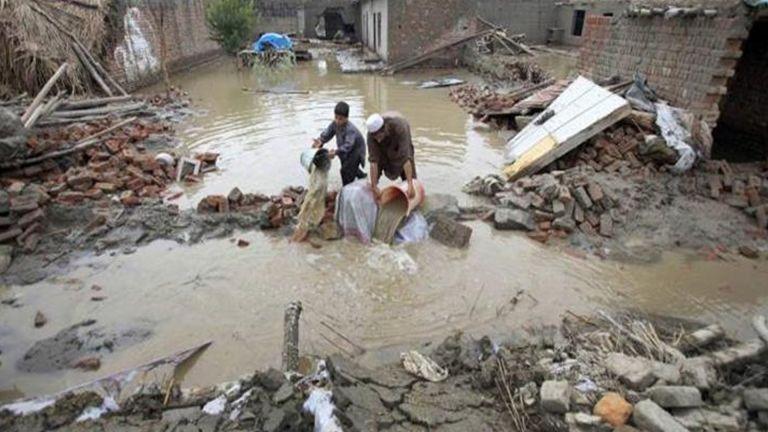 Photo of 14 قتيلاً بينهم 4 أطفال بفيضانات أفغانستان
