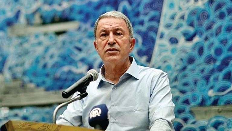 Photo of وزير الدفاع التركي : نحترم حدود دول الجوار وسيادتها