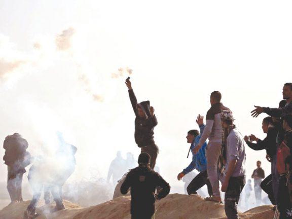 Photo of 47 مصاباً بقمع الاحتلال للمتظاهرين