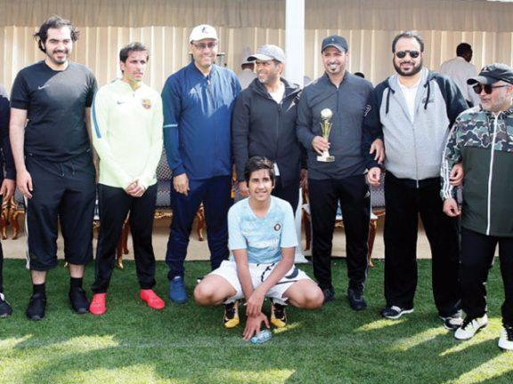 Photo of فعاليات متنوعة للديوان الأميري على ملاعب نادي قطر