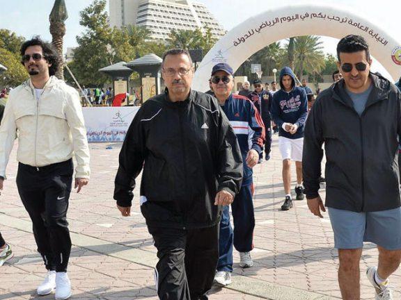 Photo of النيابة العامة تشارك مؤسسات الدولة في اليوم الرياضي