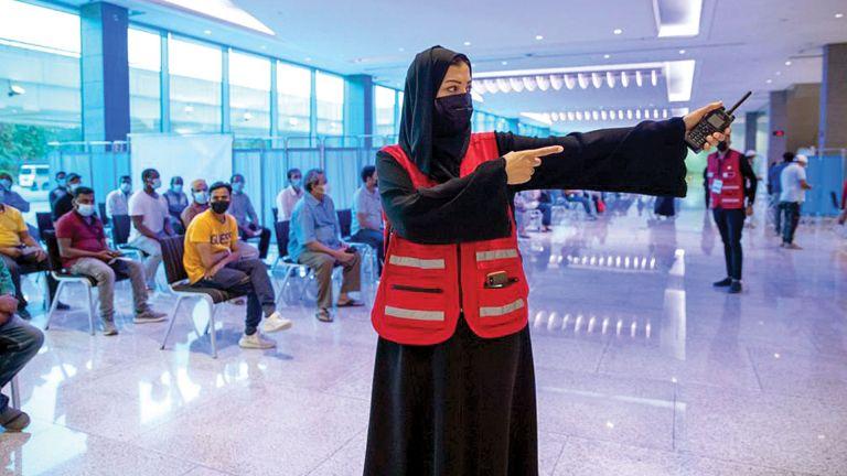 Photo of متطوعو المونديال يدعمون عددًا من المبادرات